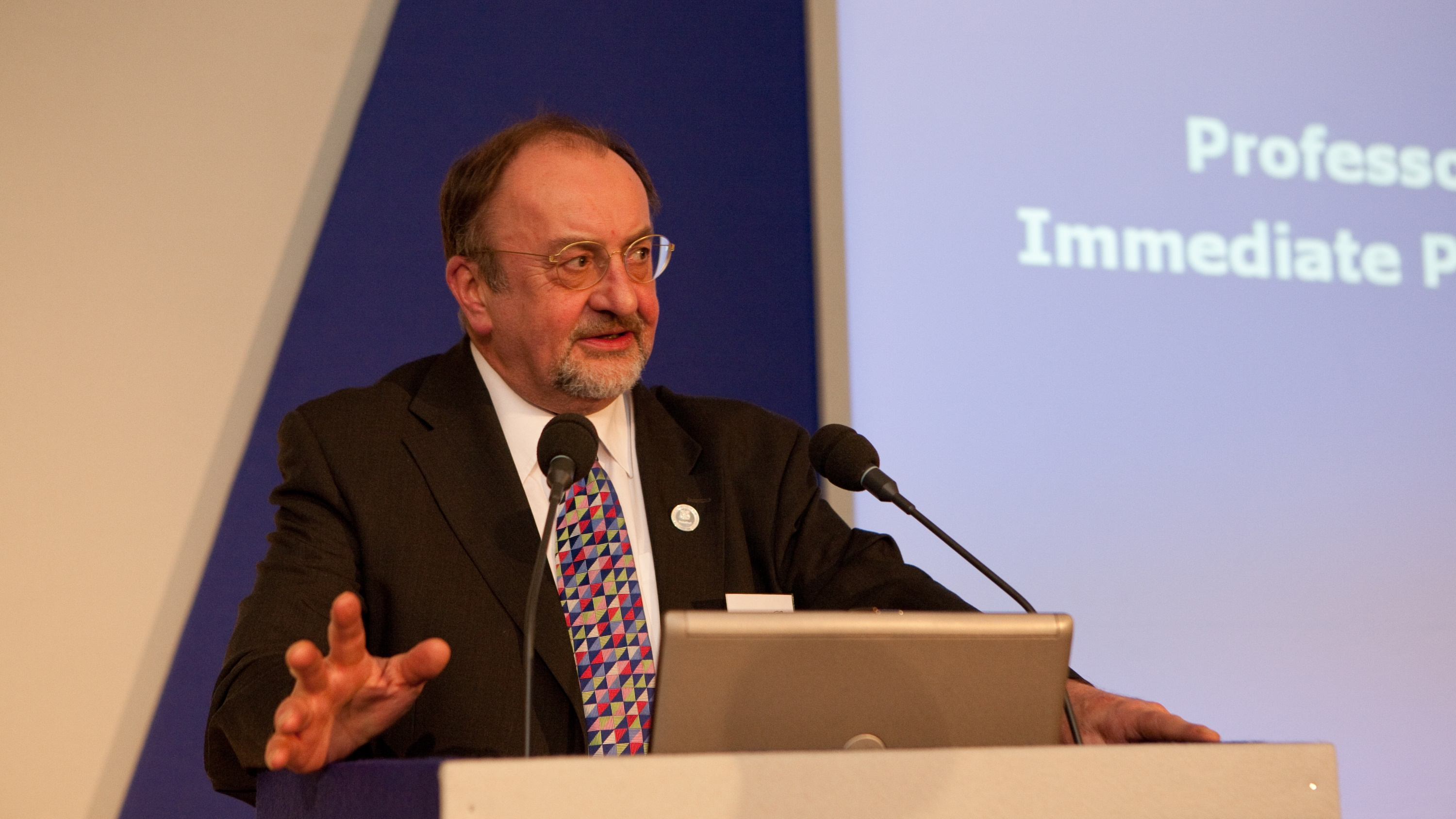 Professor Paul Jowitt at CEEQUAL Outstanding Achievement Awards 2011