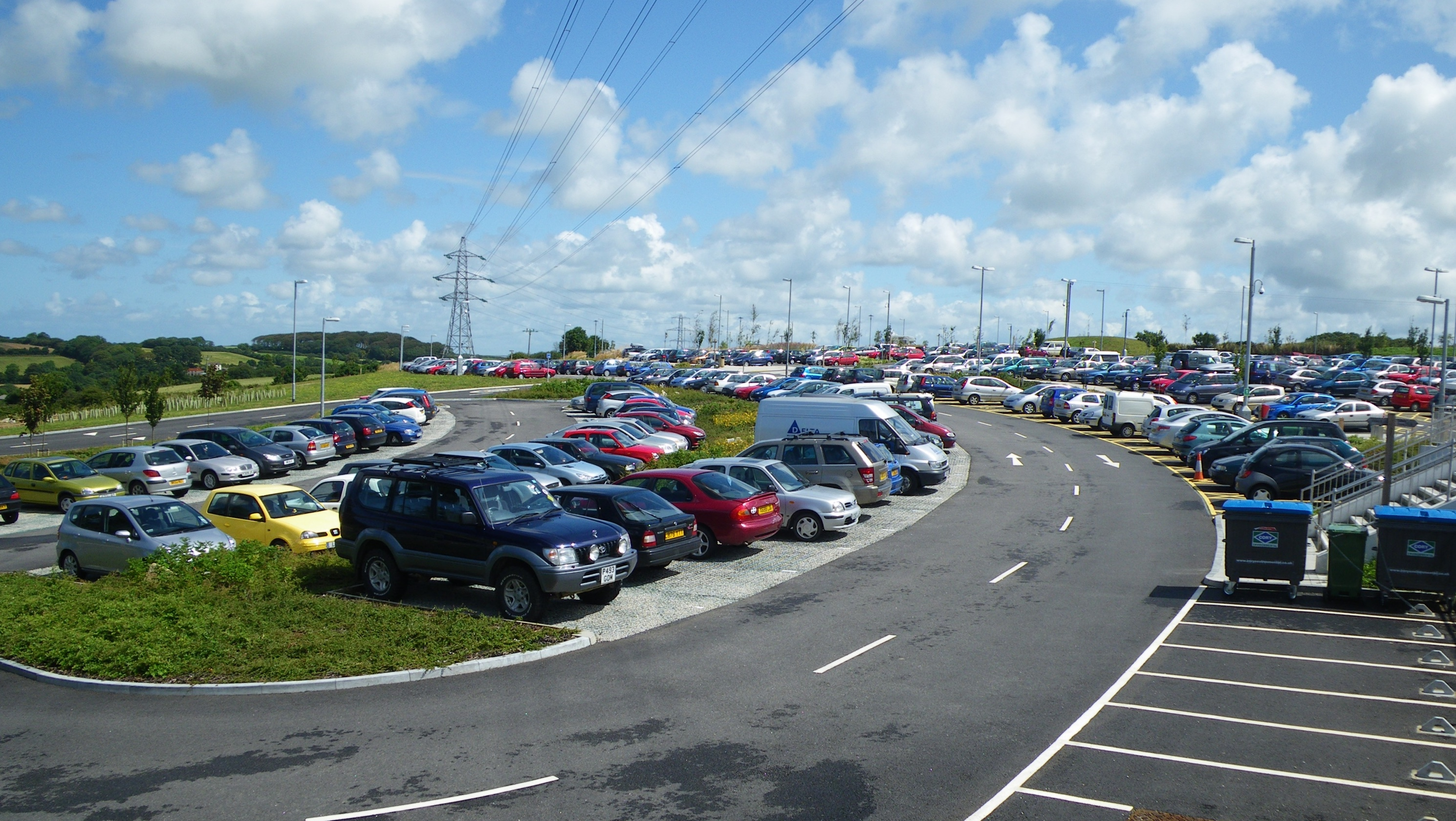 Threemilestone Park and ride
