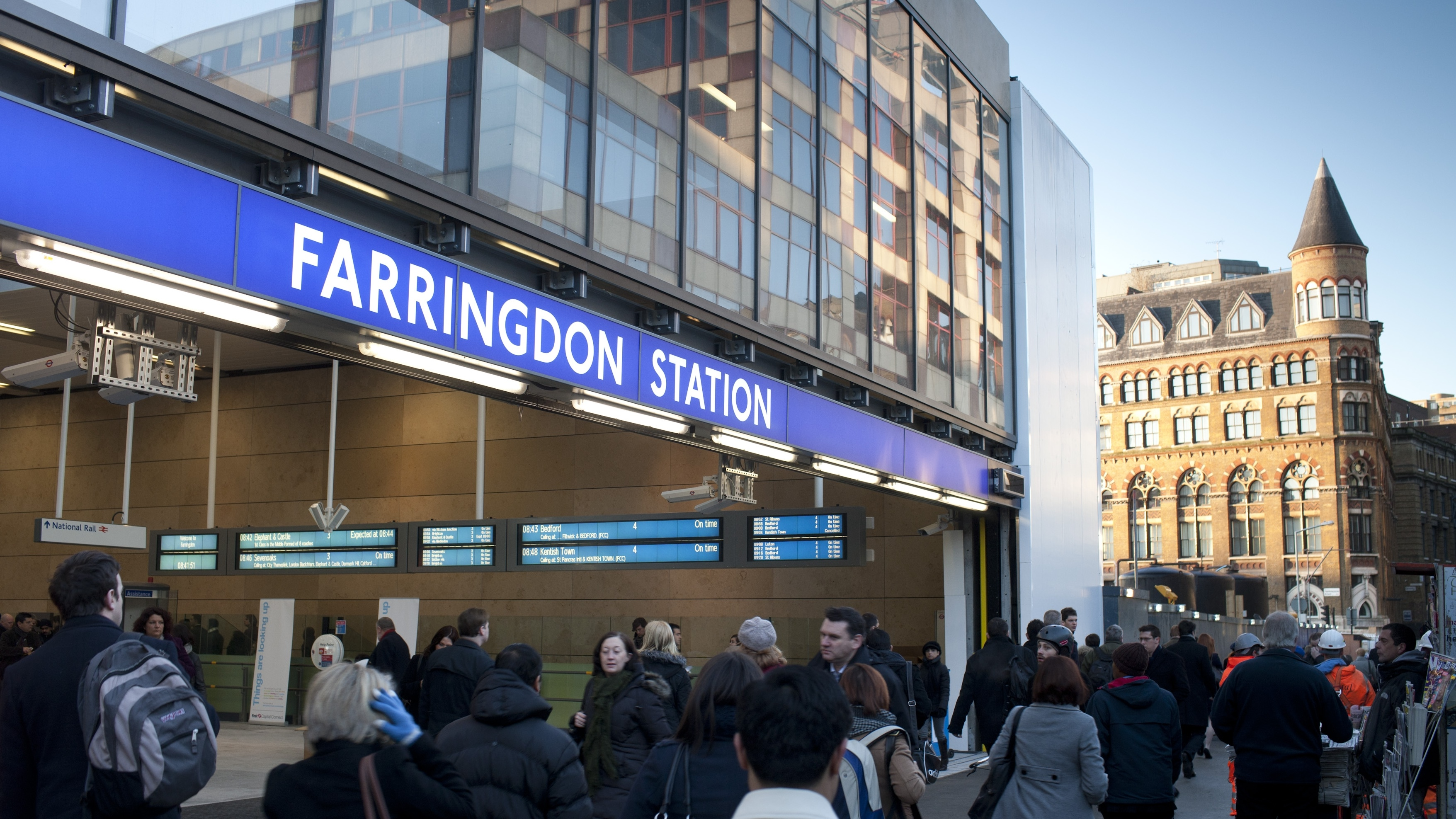 Farringdon Station Redevelopment