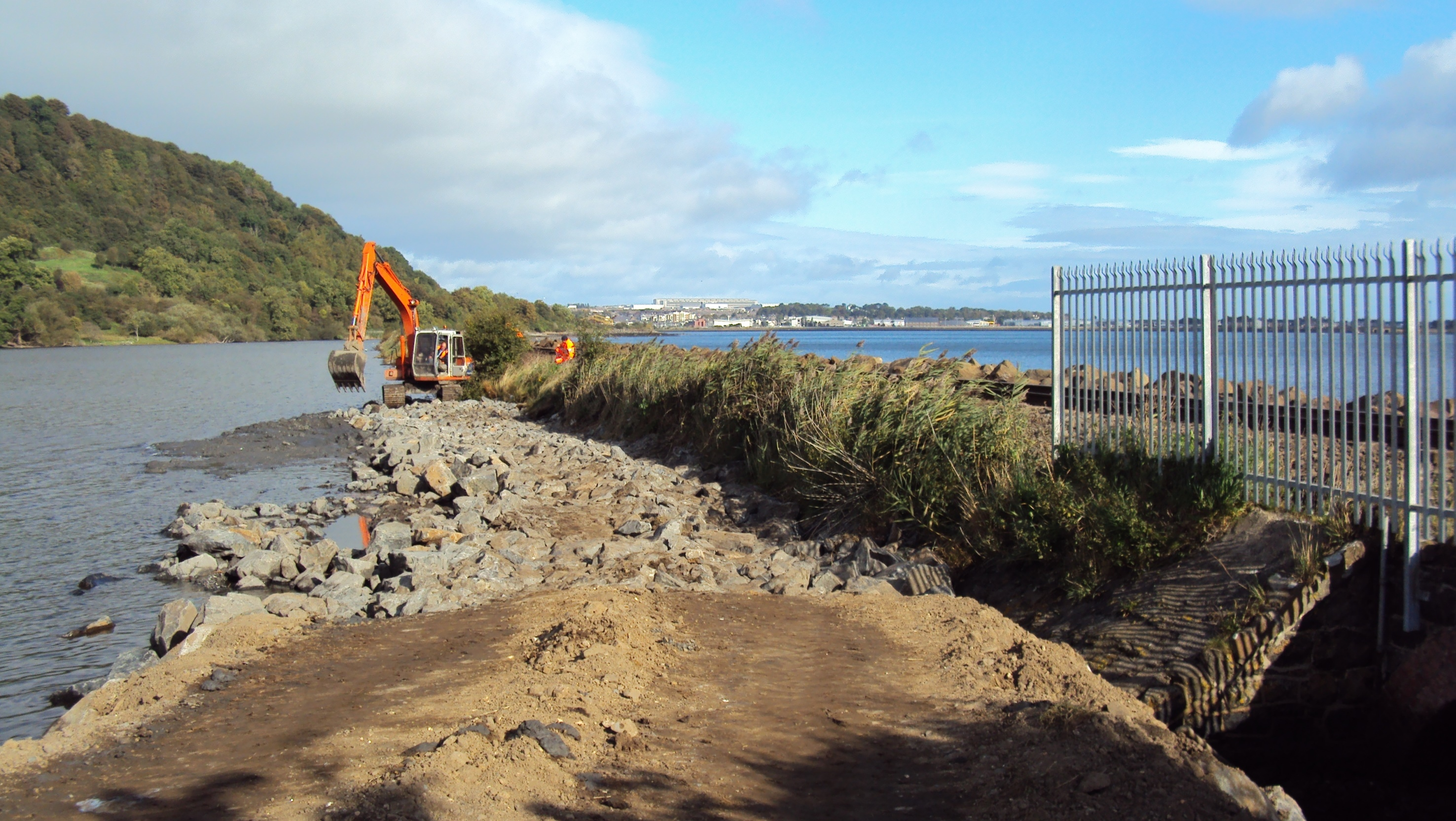 Sea defence upgrades Londonderry to Coleraine