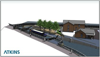 3D impression of the regenerated Meadow Lane Lock