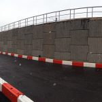Early works - widened Heathrow Airport Spur Embankment
