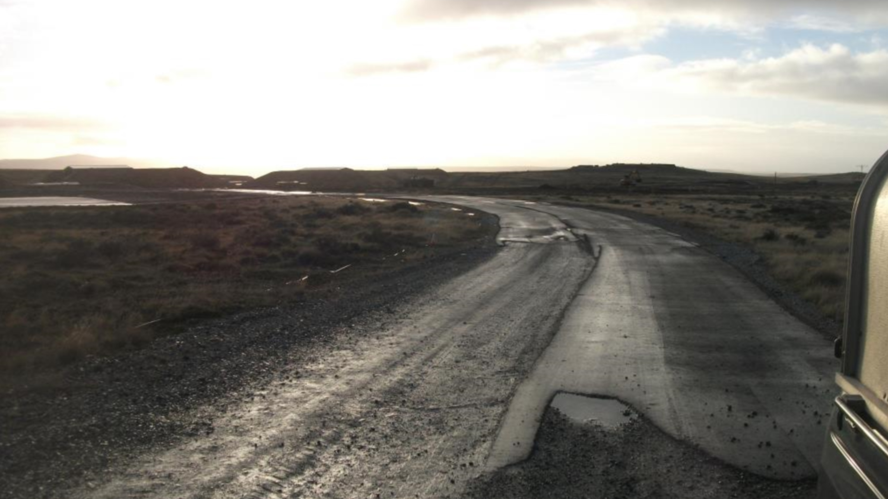 Falkland Islands Runway
