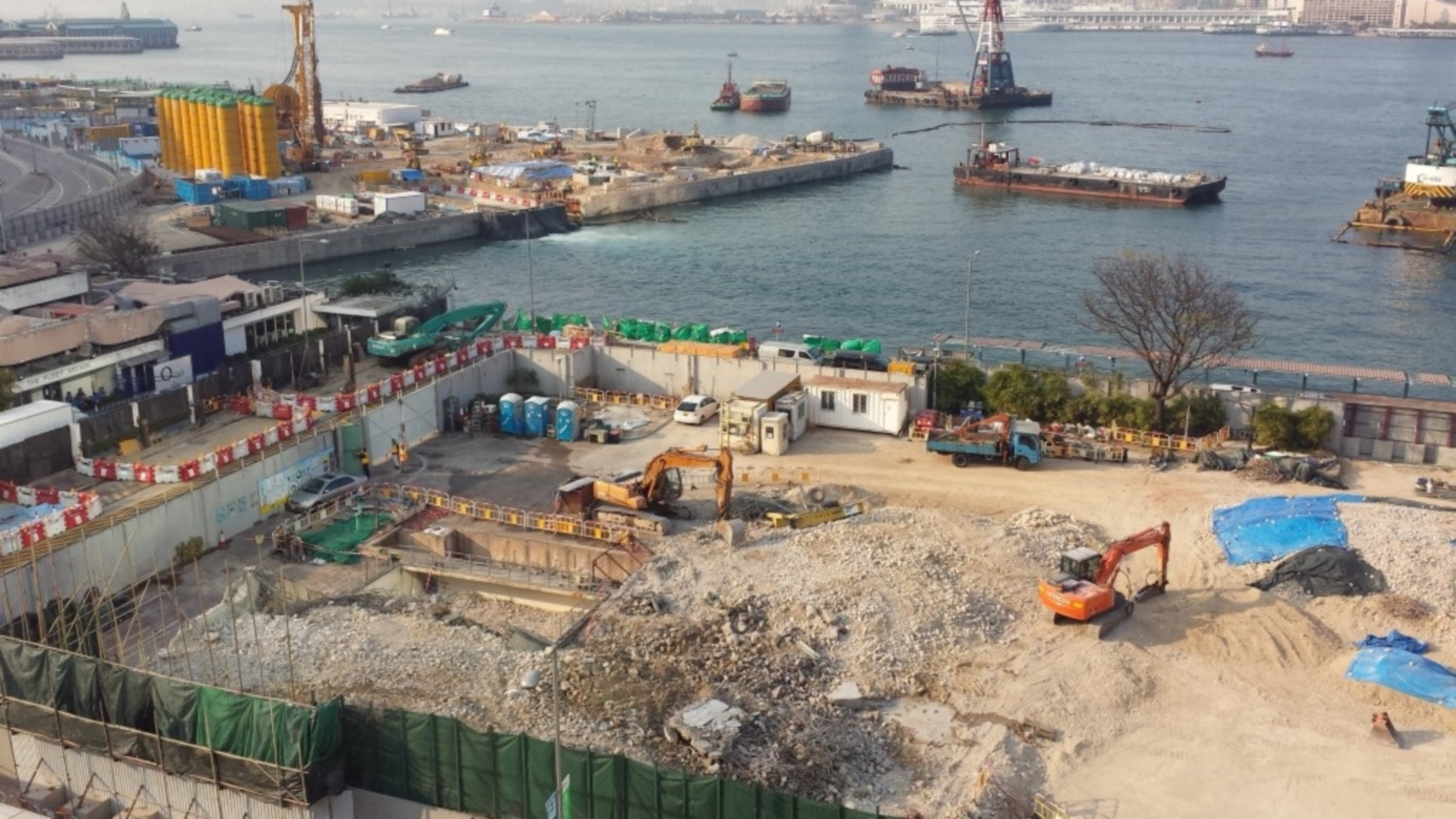 Demolition of Wan Chai West Preliminary Treatment Works