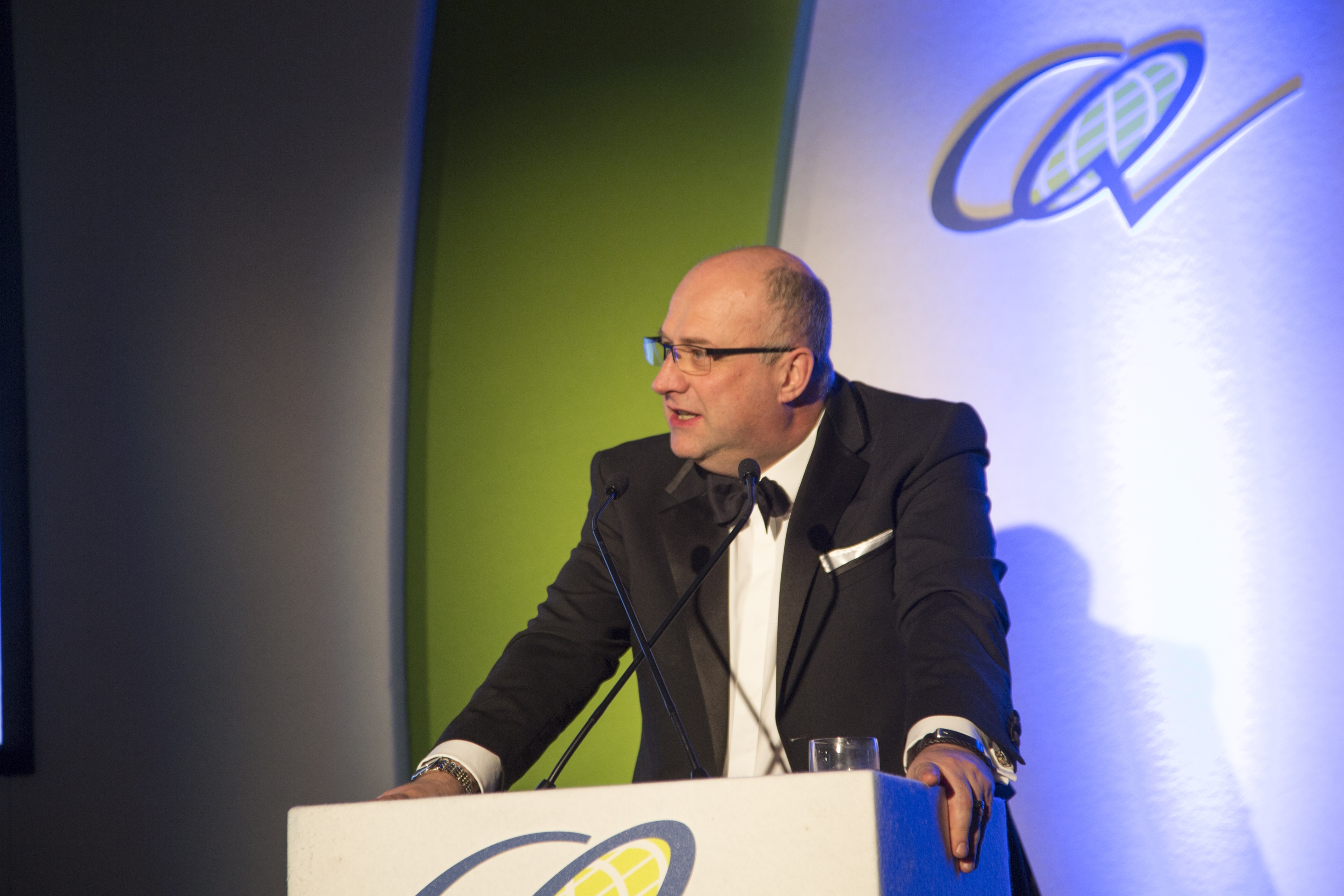 Ian Nicholson at CEEQUAL Outstanding Achievement Awards 2016