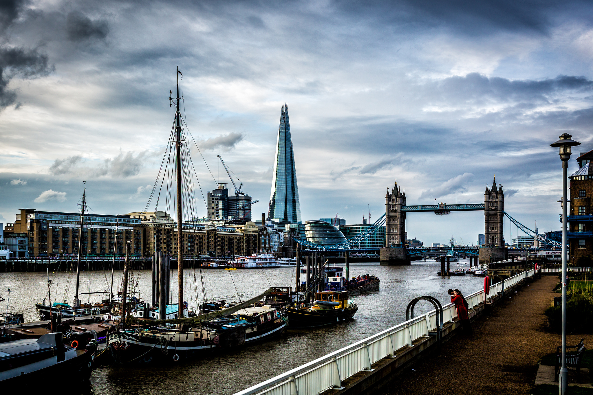 London Cityscape by Davide D'Amico on Flickr