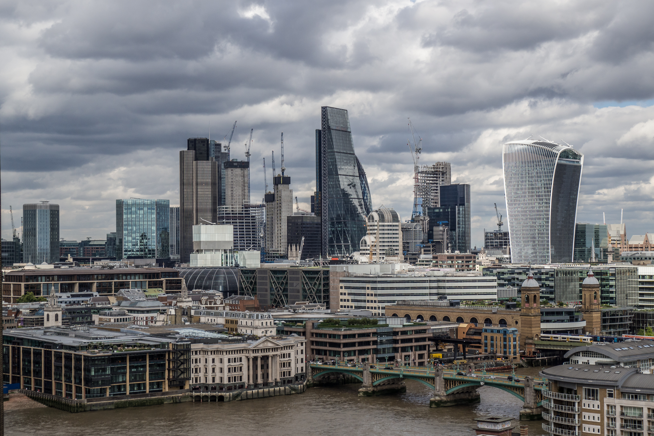 London Skyline by Hanno Rathmann on Flickr