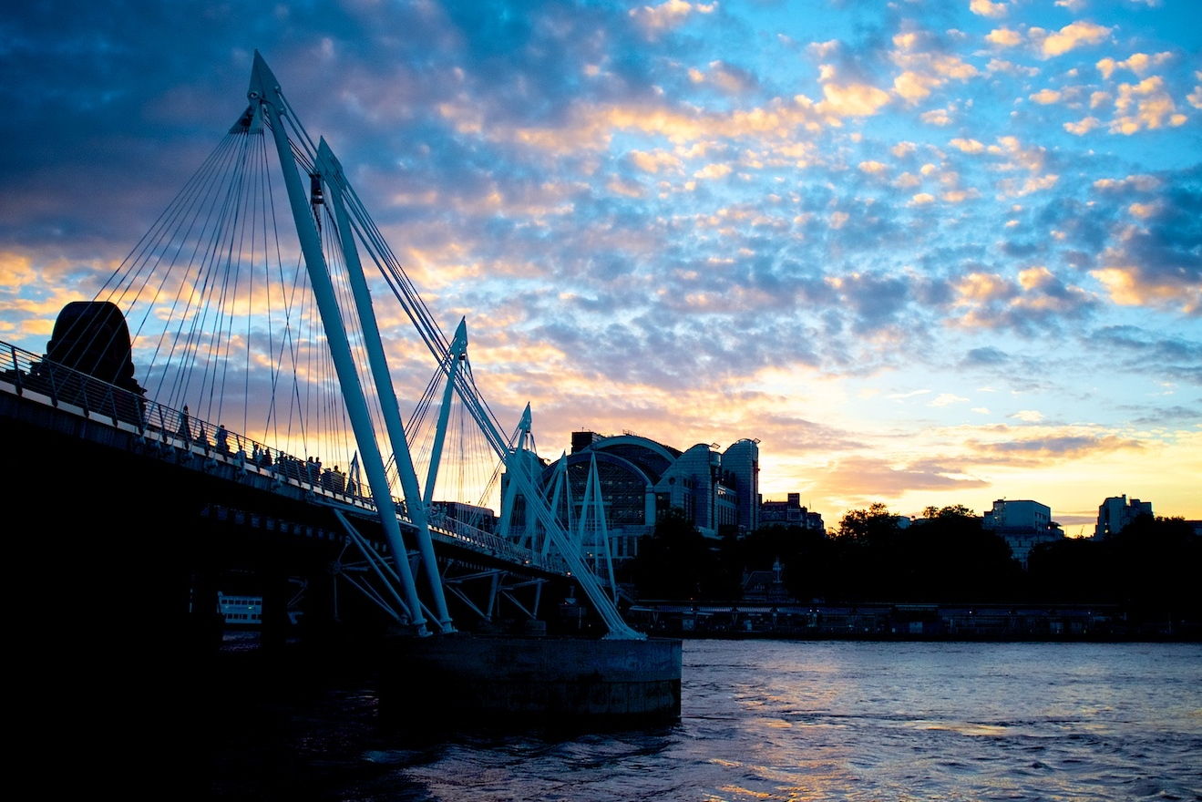 London Sunset by davidgsteadman on Flickr