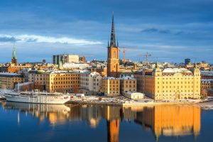 Riddarholmen Island Stockholm Sweden by chas B on Flickr - The extended metro project will extend the Stockholm metro