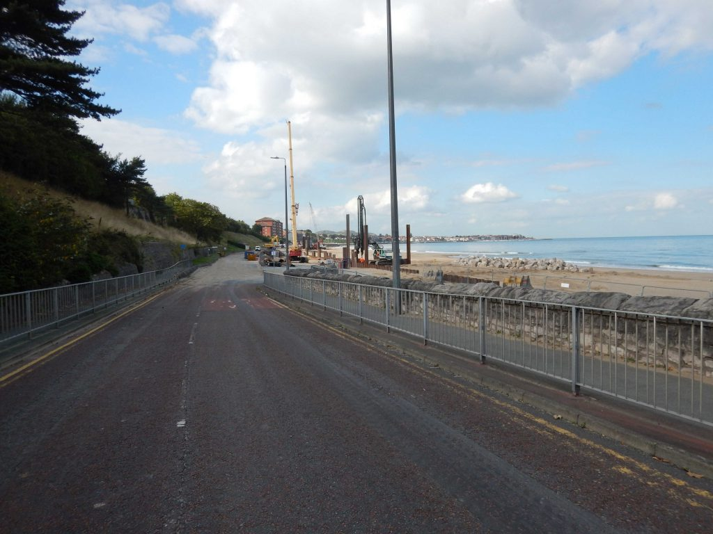 Colwyn Bay Waterfront Project- Construction