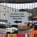 Northern line extension site