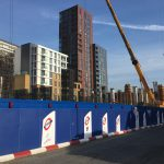 Northern line extension site view