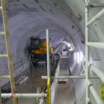 Northern line extension tunnel view