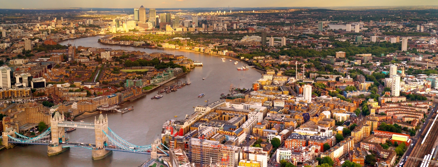 London climate resilience built environment