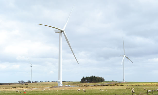 Blackstone Edge Wind Farm