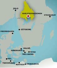 Tye Location in Sweden