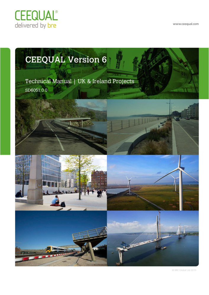 CEEQUAL Version 6 - UK & Ireland Projects